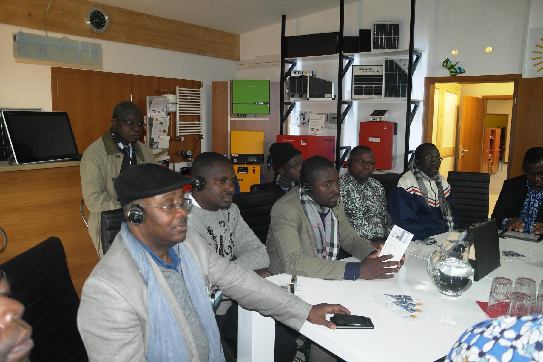 Afrikanische Gäste bei iKratos