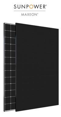 Solar-Photovoltaik - SUNPOWER MAXEON 2 - 3 - Rekordmeister 400 Watt