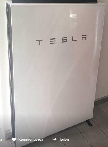 Tesla Batterie Speicher Powerwall - der Beste ?