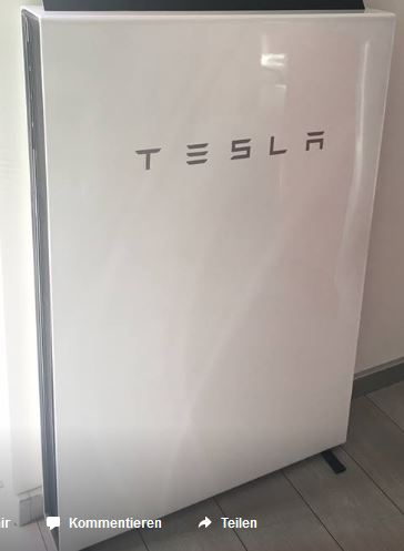 jetzt den tesla powerwall 2 0 speicher zur photovoltaik. Black Bedroom Furniture Sets. Home Design Ideas