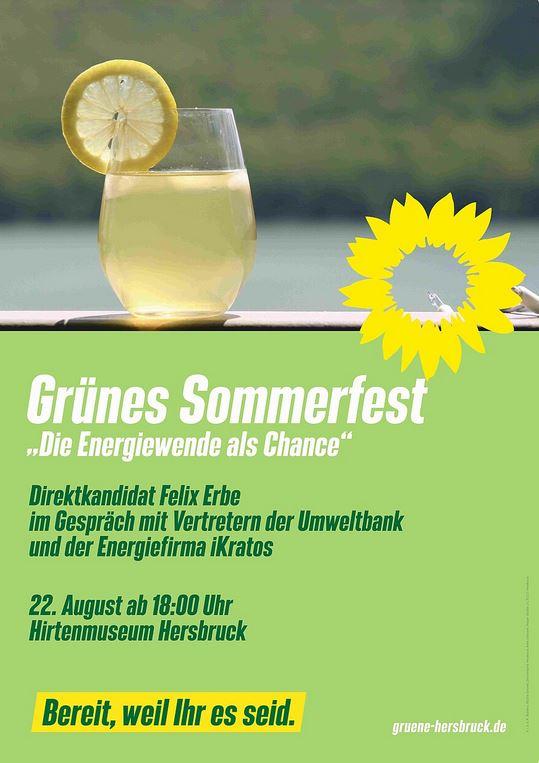 """iKratos zu Gast bei """"Grünes Sommerfest Hersbruck"""""""