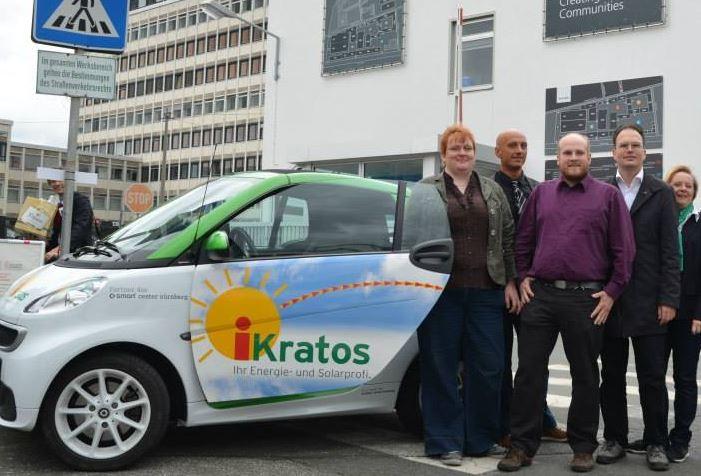 """Piraten besuchen iKratos in Nürnberg """"Auf AEG"""""""