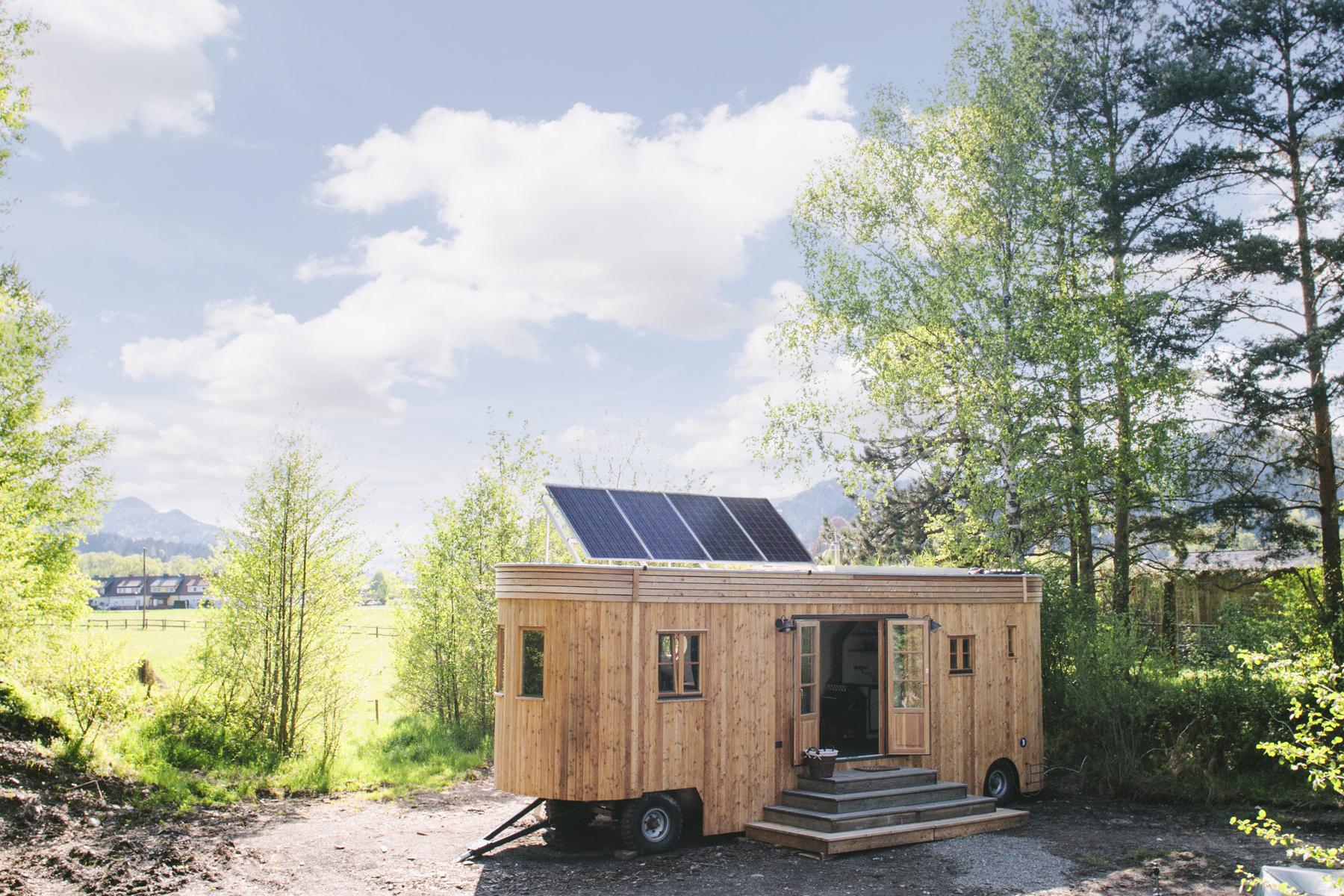 Tiny-House - autark mit Sonne und Solarkraft