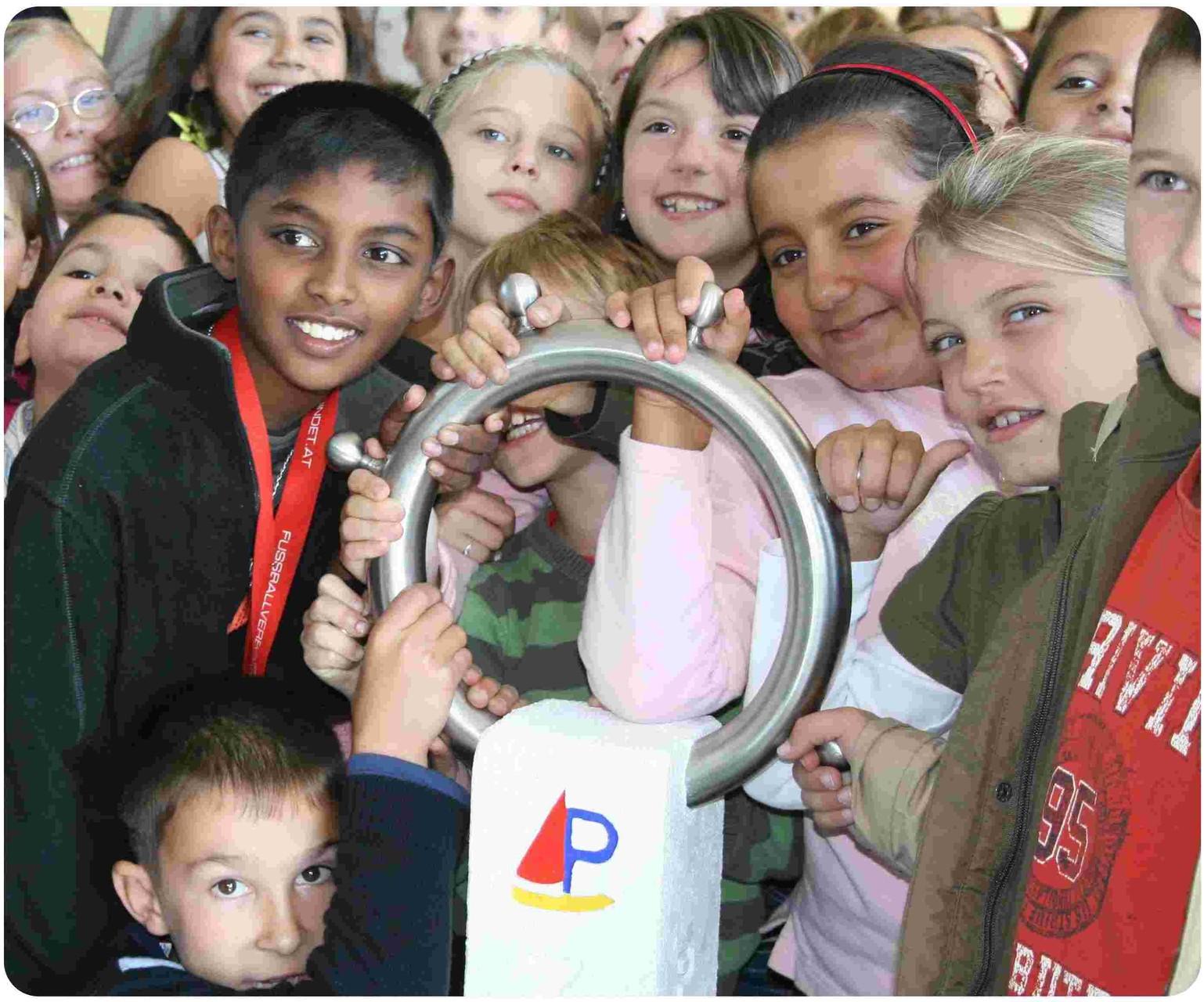 Planetenweg mit der Grundschule Igensdorf