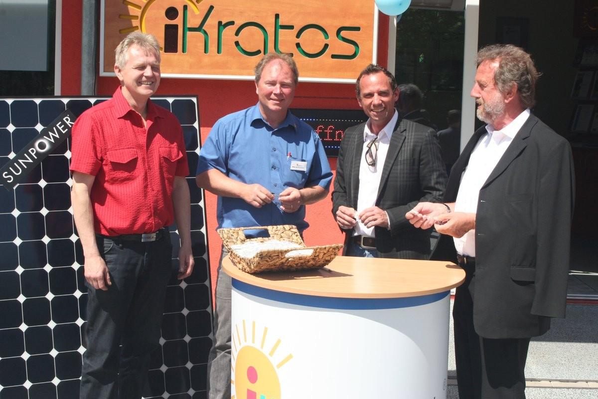 Bürgermeister und Ladrat bei iKratos