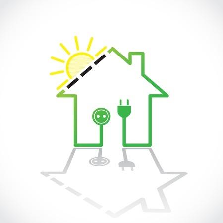 Sonnenenergie erzeugt Strom