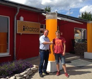 iKratos unterstützt Igensdorfer Klettertalent