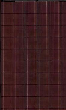 rote Wafer Solarzelle Solarmodul