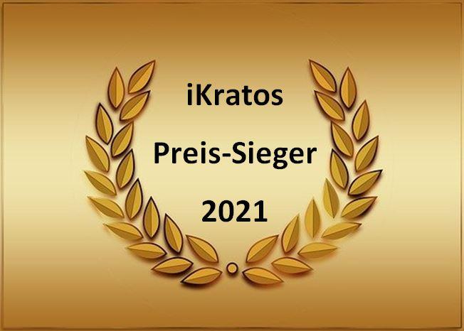 iKratos Preis-Sieger 2021 im Deutschlandtest