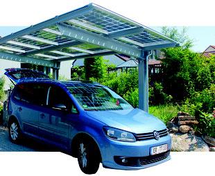 solarcarport mit mehrfachfunktion solaranlagen. Black Bedroom Furniture Sets. Home Design Ideas