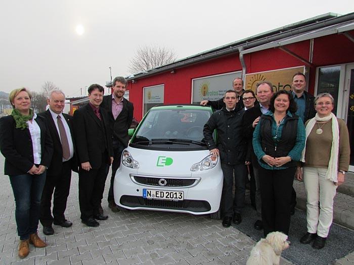 BFB Neunkirchen und verschiedene Politiker bei iKratos
