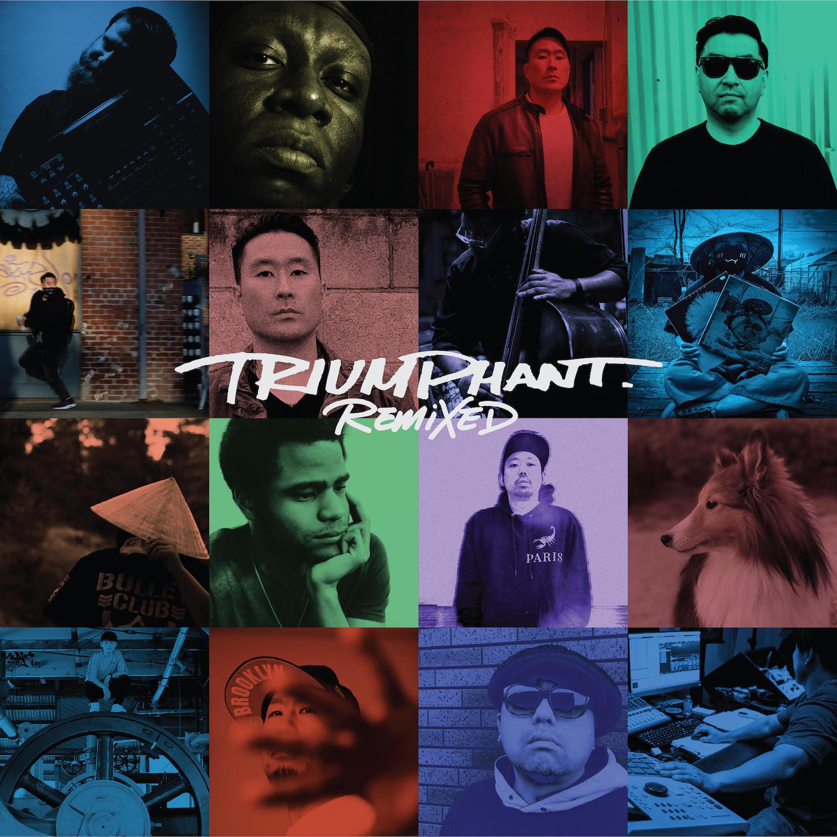 "Shing02 & Jack The Rip ""Triumphant"" Remixed"