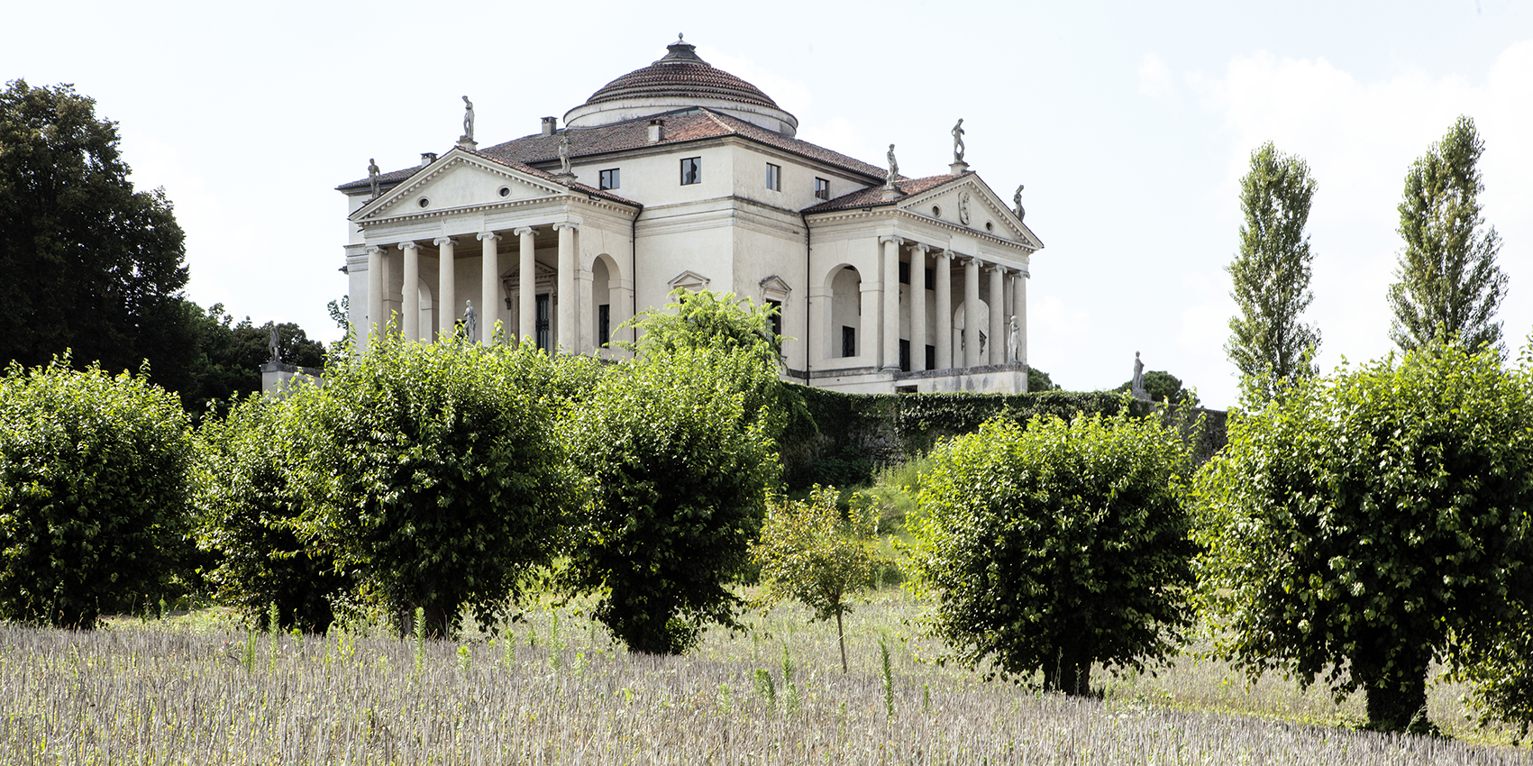 "Villa Almerico Capra also called ""La Rotonda""."