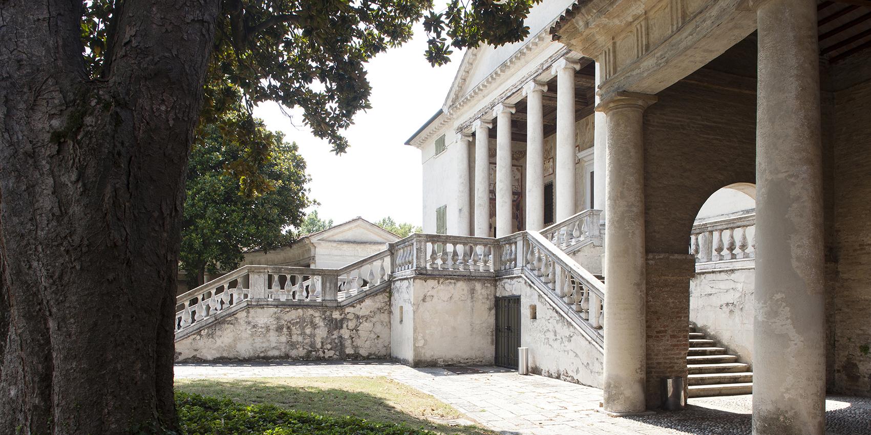 Villa Badoer, detail.