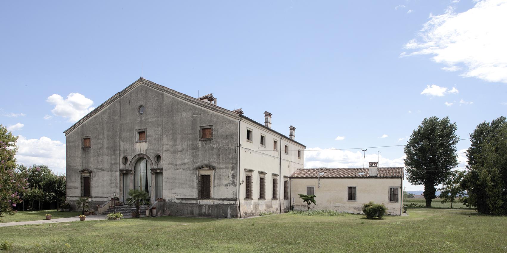 Villa Valmarana, in Vigardolo.