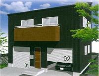 ガレージハウス 2DK(Car space for 2)
