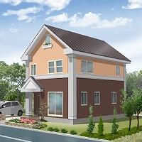 【2LDK+2S】No.6(屋根裏部屋付)…3階建て 1134万円