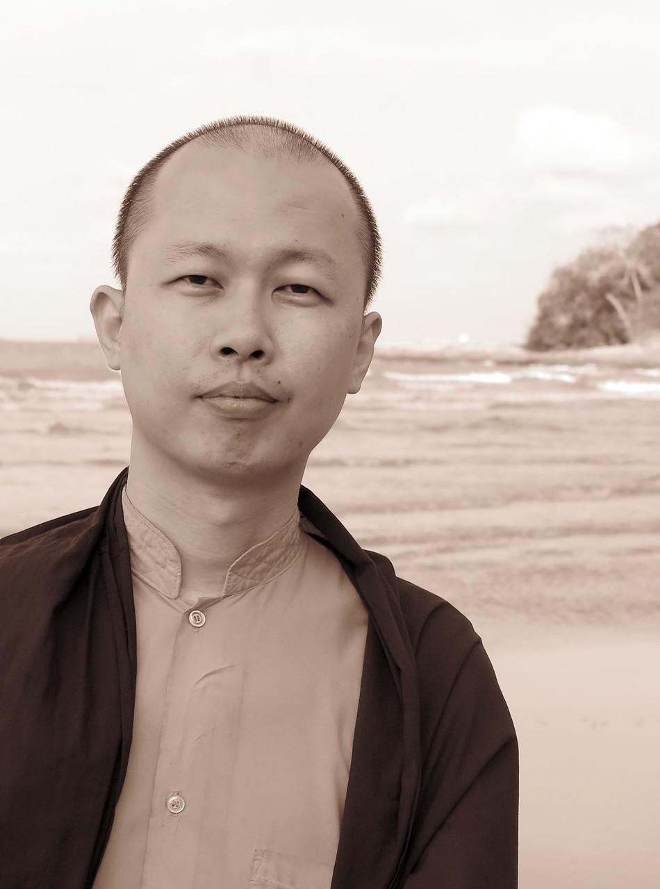 Khenpo Samten: Familarity with the mind as a basis for sustainable living. Photo: Hendrik Stark.
