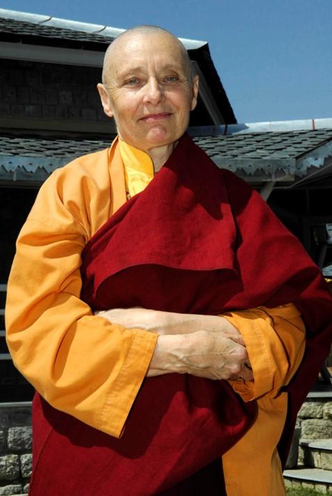 Jetsunma Tenzin Palmo: Everything depends on the mind. Photo: Nicolas Messner