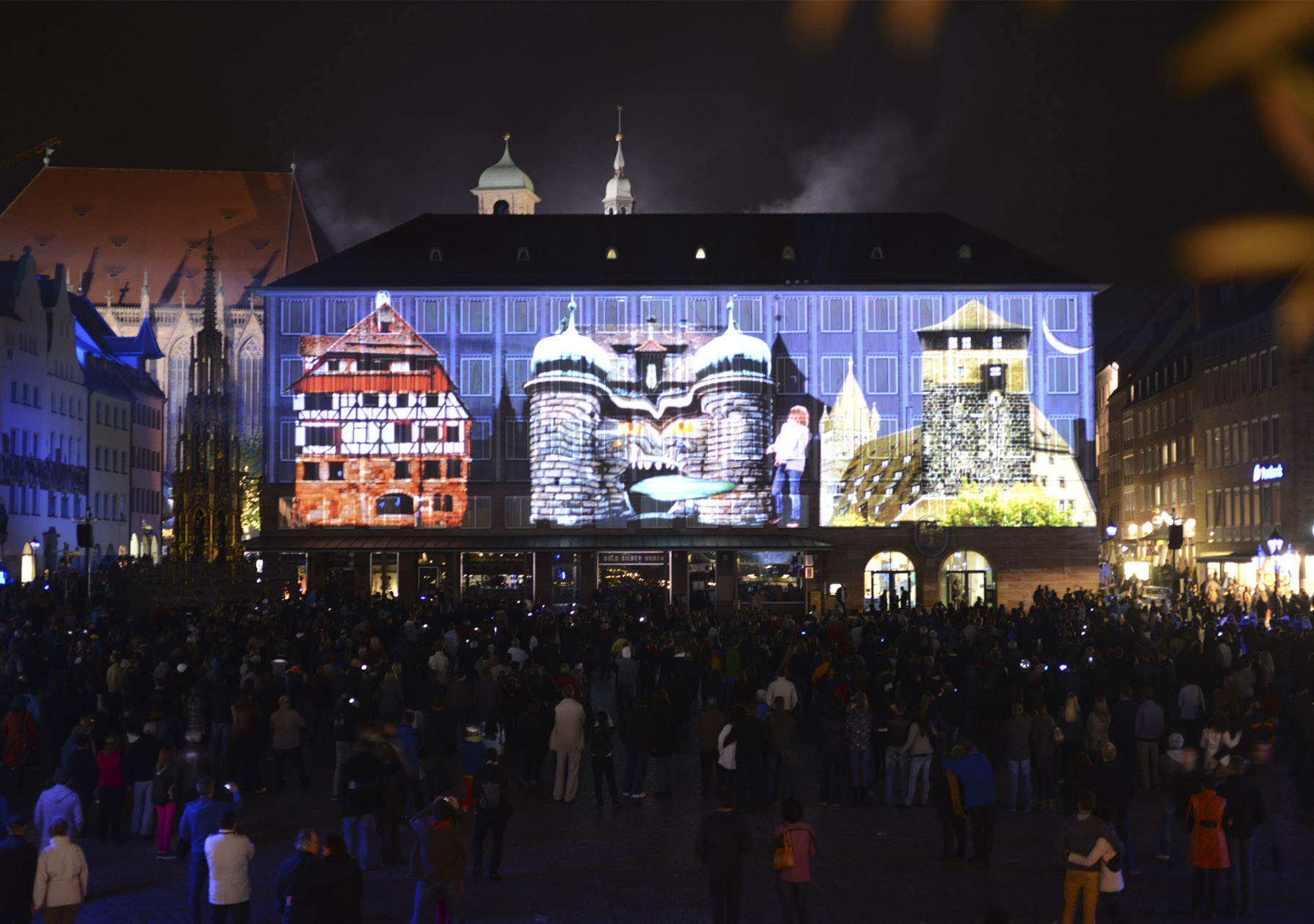 Phantastonaut - Blaue Nacht Nürnberg 2013