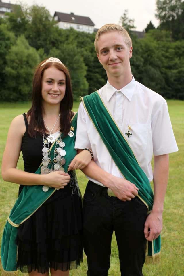 Jugendkönigspaar 2014: Lisa Marie Heßler und Prinzregent Jonas Feuerhahn