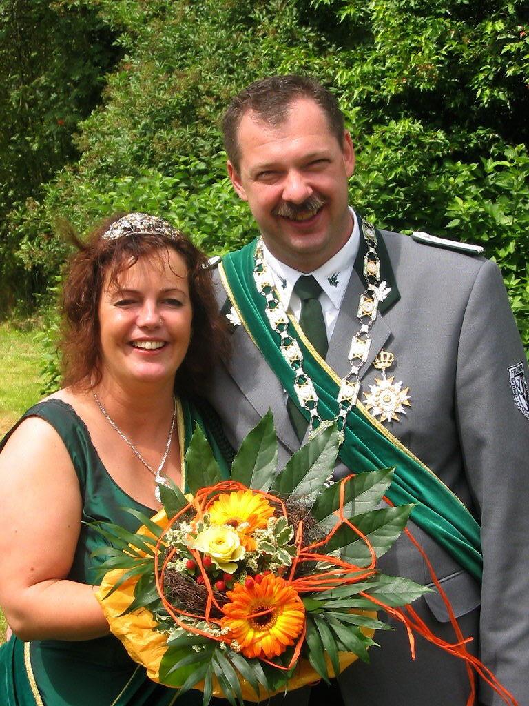 Schützenkönigspaar 2005: Klaus Dörr und Barbara Dinger