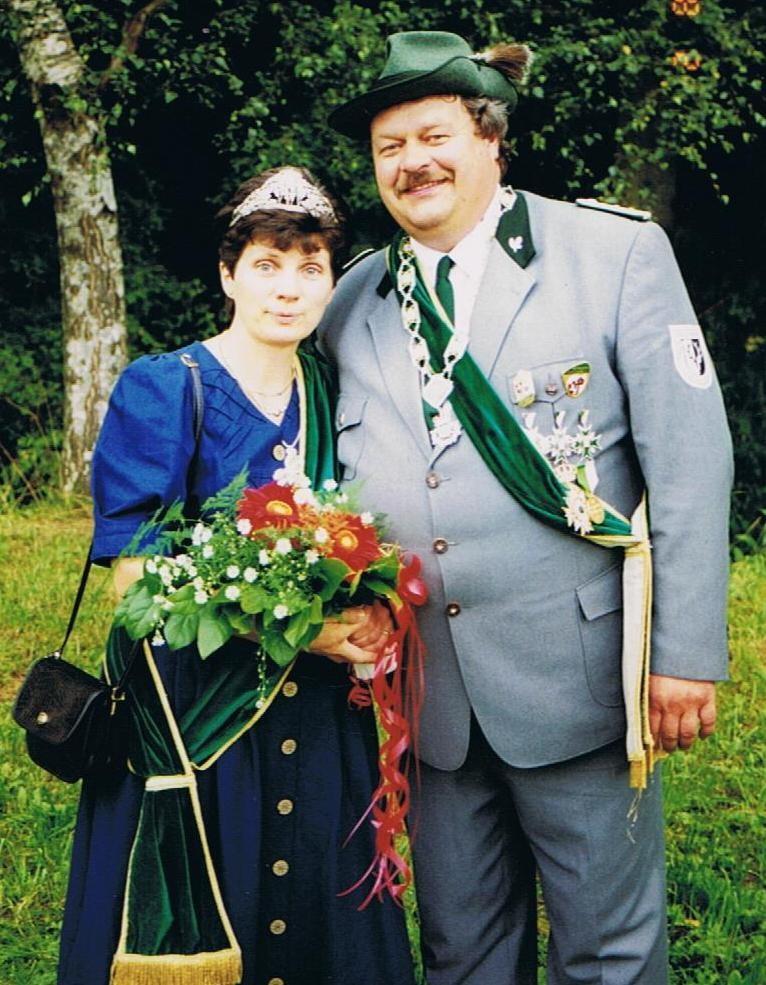 Schützenkönigspaar 1998: Hartwig und Maria Kuhli