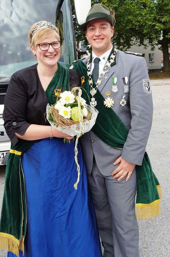 Schützenkönigspaar 2016: Nico Negri und Corinna Stockmann