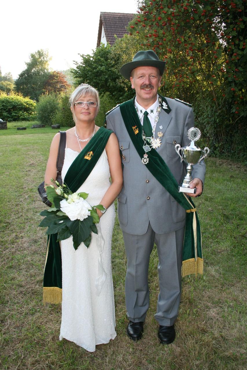 Schützenkönigspaar 2009: Dieter und Susanne Jöhnk