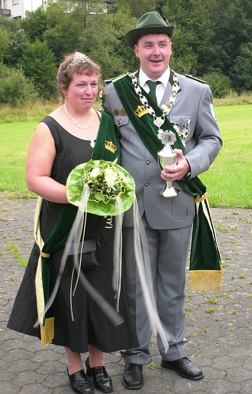 Schützenkönigspaar 2006: Stephan und Anja Förster