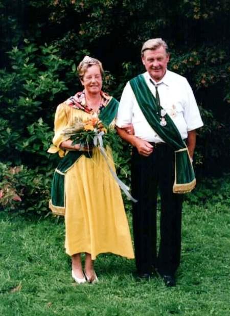 Schützenkönigspaar 2000: Günter und Elke Heinrich