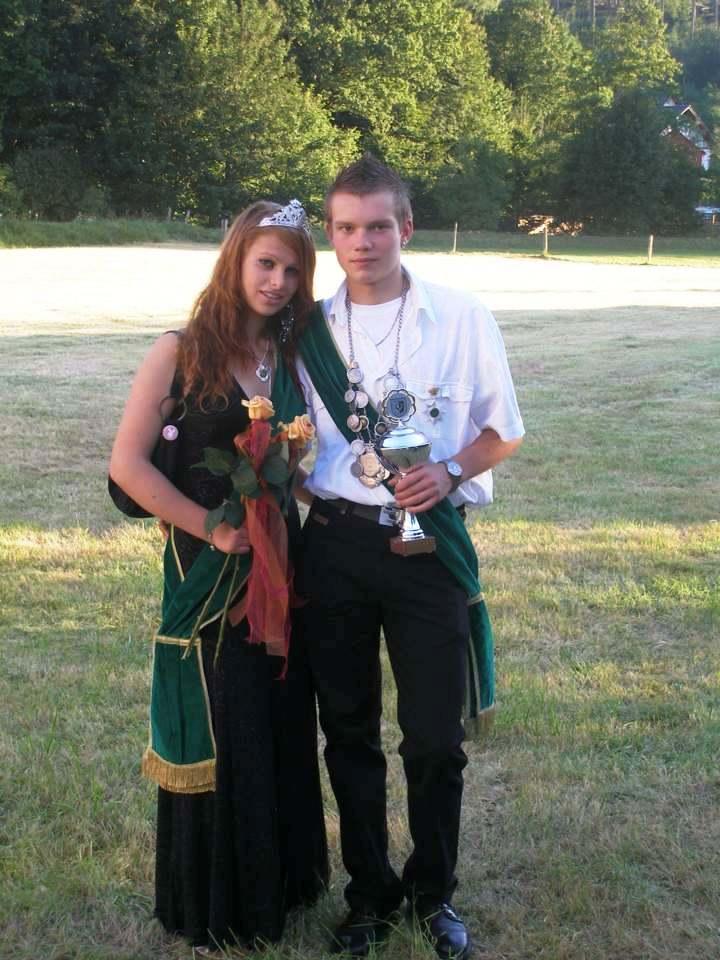 Jungschützenkönigspaar 2007: Nico Schröder und Jenifer Seib
