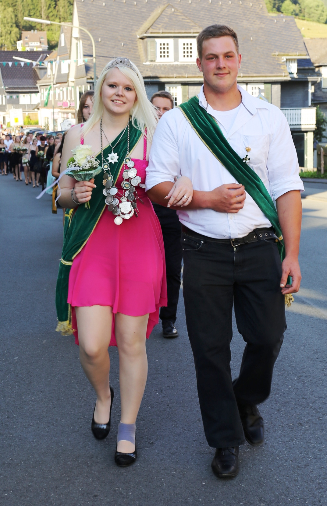Jungschützenkönigspaar 2015: Jaqueline Heßler und Prinzregent Tom Müller