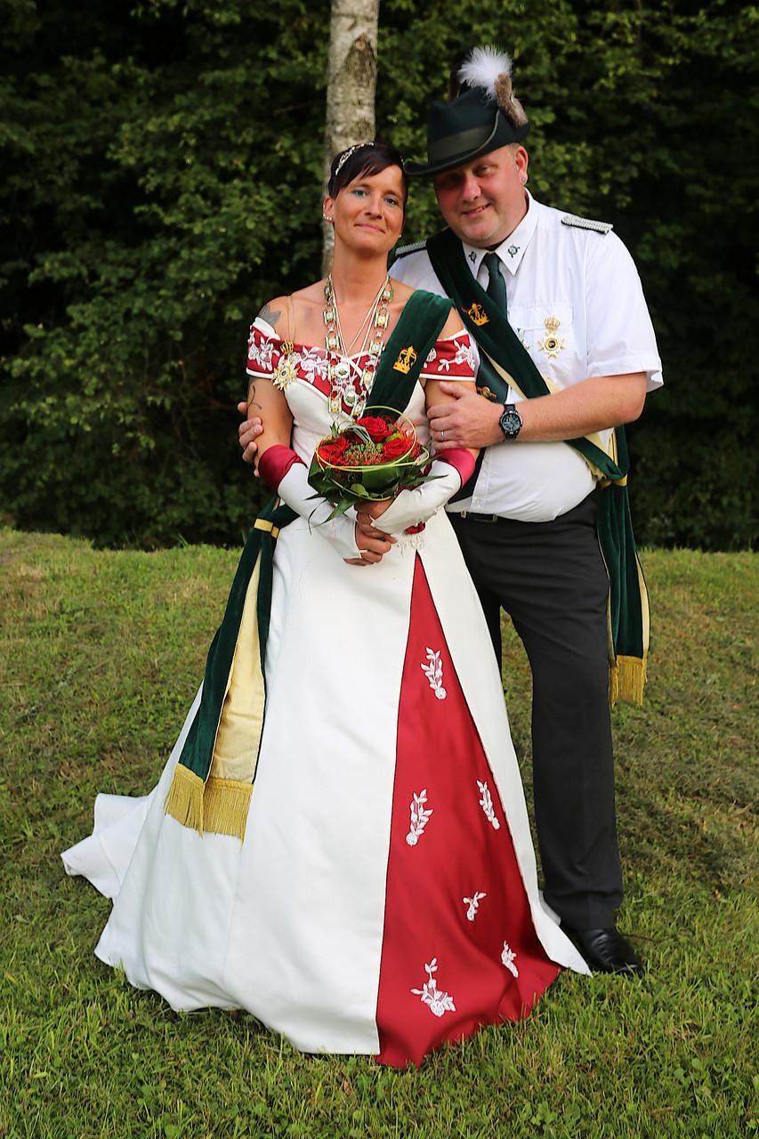 Schützenkönigspaar 2015: Nadine und Michael Herling