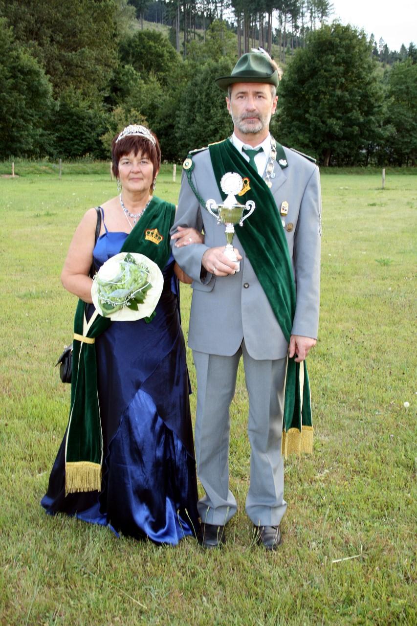 Schützenkönigspaar 2010: Walter und Angelika Hartrampf
