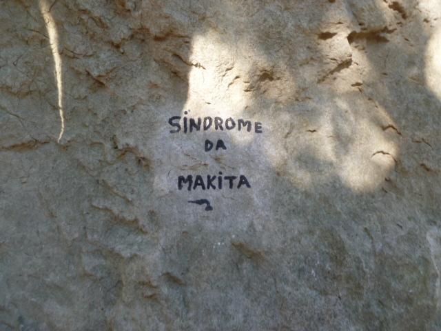 "2. Versuch: ""Sindrome da Makita"""
