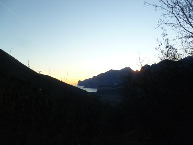 Ciao Sonne! Zum Glück erst beim Ausstieg