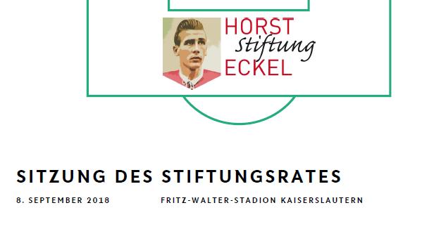 2. Sitzung der Horst-Eckel-Stiftung 2018