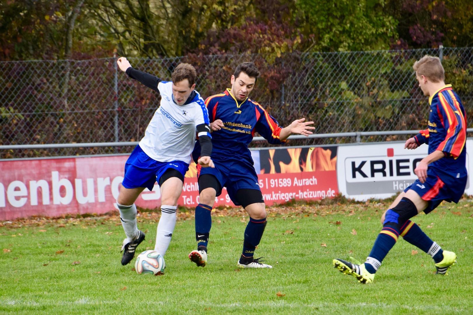 Nicht zu stoppen: Andreas Habelt steuerte mit seinen zwei Toren einen großen Beitrag zum Sieg über den TSV Merkendorf bei.