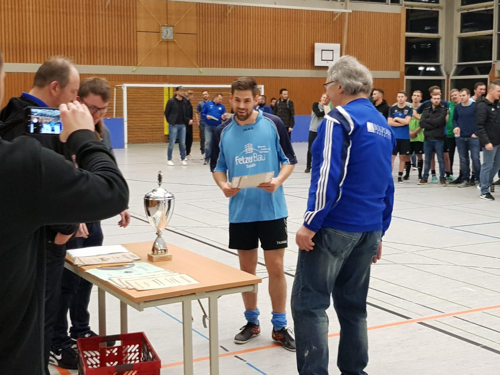 24.01.2019 - Mitternachtsturnier SV Meinhardswinden - FC Erzberg-Wörnitz