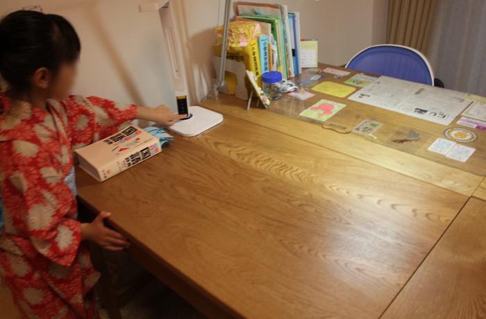 シンプル学習机&本棚(川崎市・H様邸)