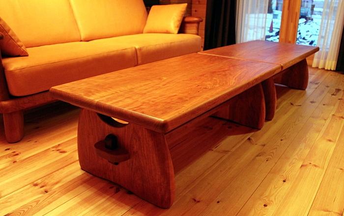 センターテーブル(遠野市・S様邸)