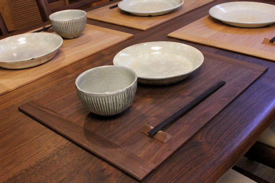 木製ランチョンマット(ウォルナット)