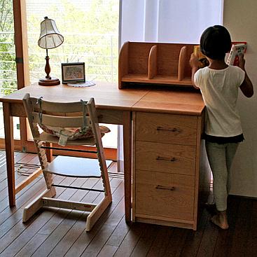 シンプル学習机(鎌倉市・T様邸)