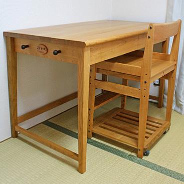 シンプル学習机&学習椅子(長久手市・K様邸)