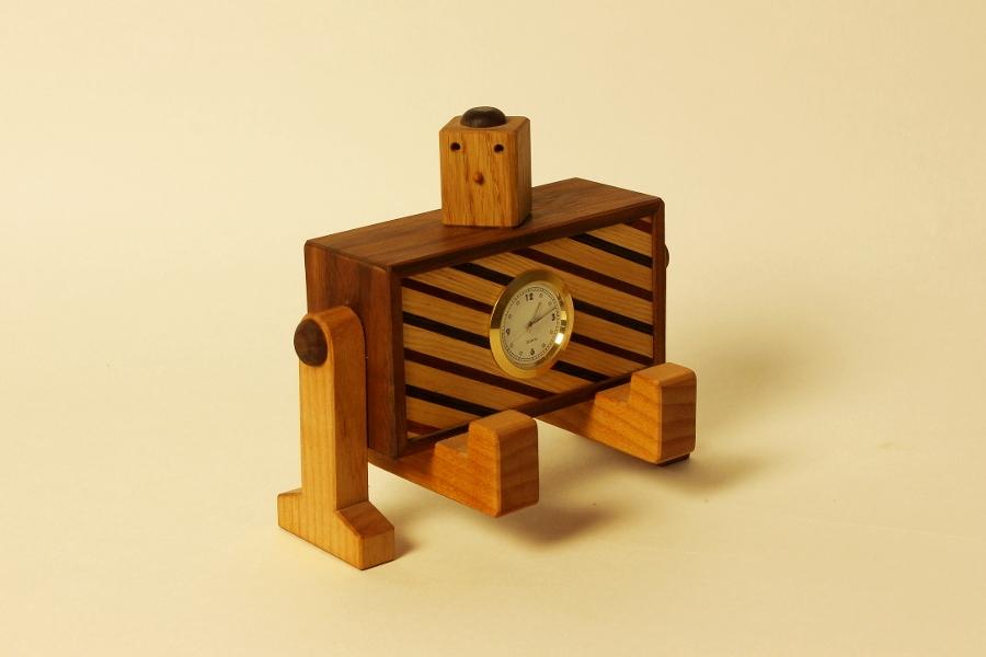 ロボ時計(横長)