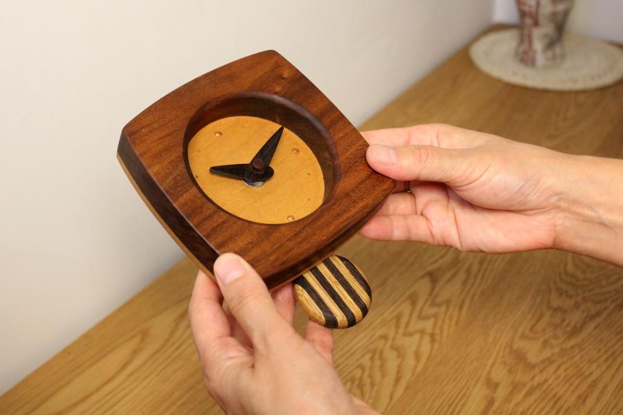 ゆらり時計 アメリカンチェリー