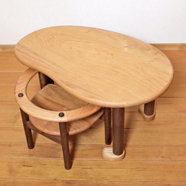 U字の子供椅子&テーブル