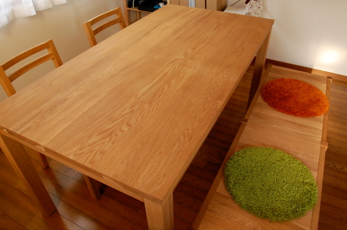 シンプルダイニングテーブルセット(小田原市・K様邸)