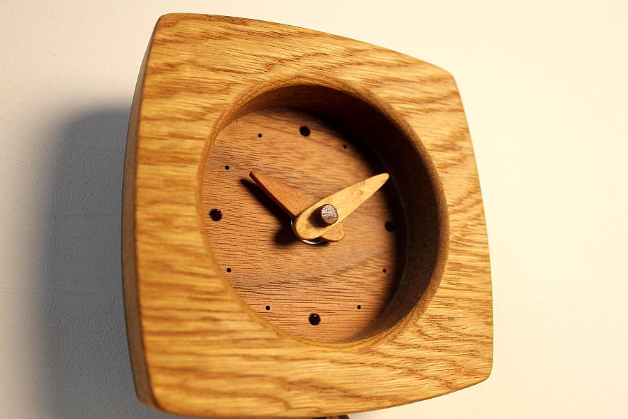 ゆらり時計(ナラ)